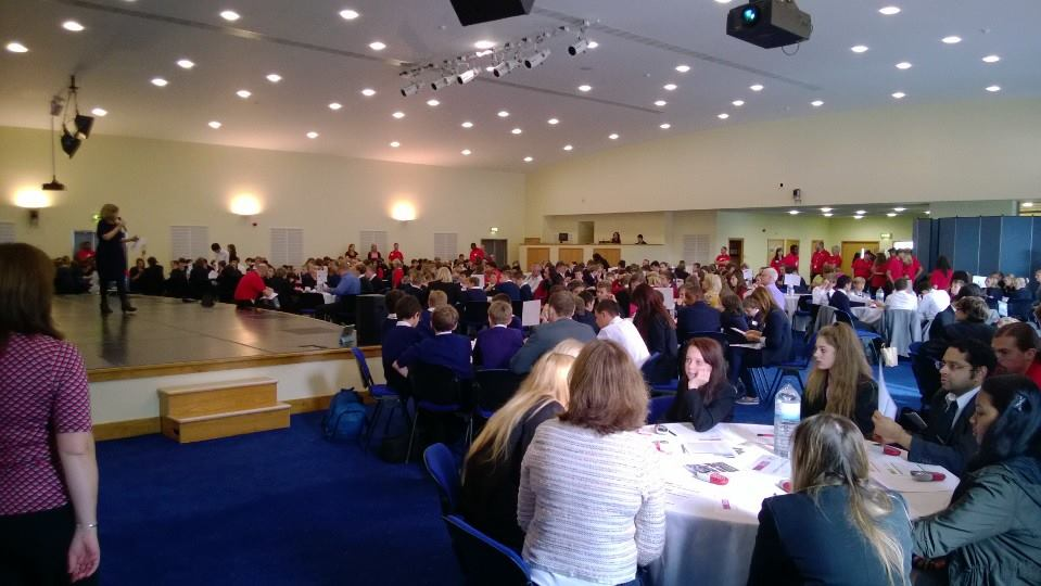 Chaos Created working with TeenTech on events in Wales, Leicester and Doncaster
