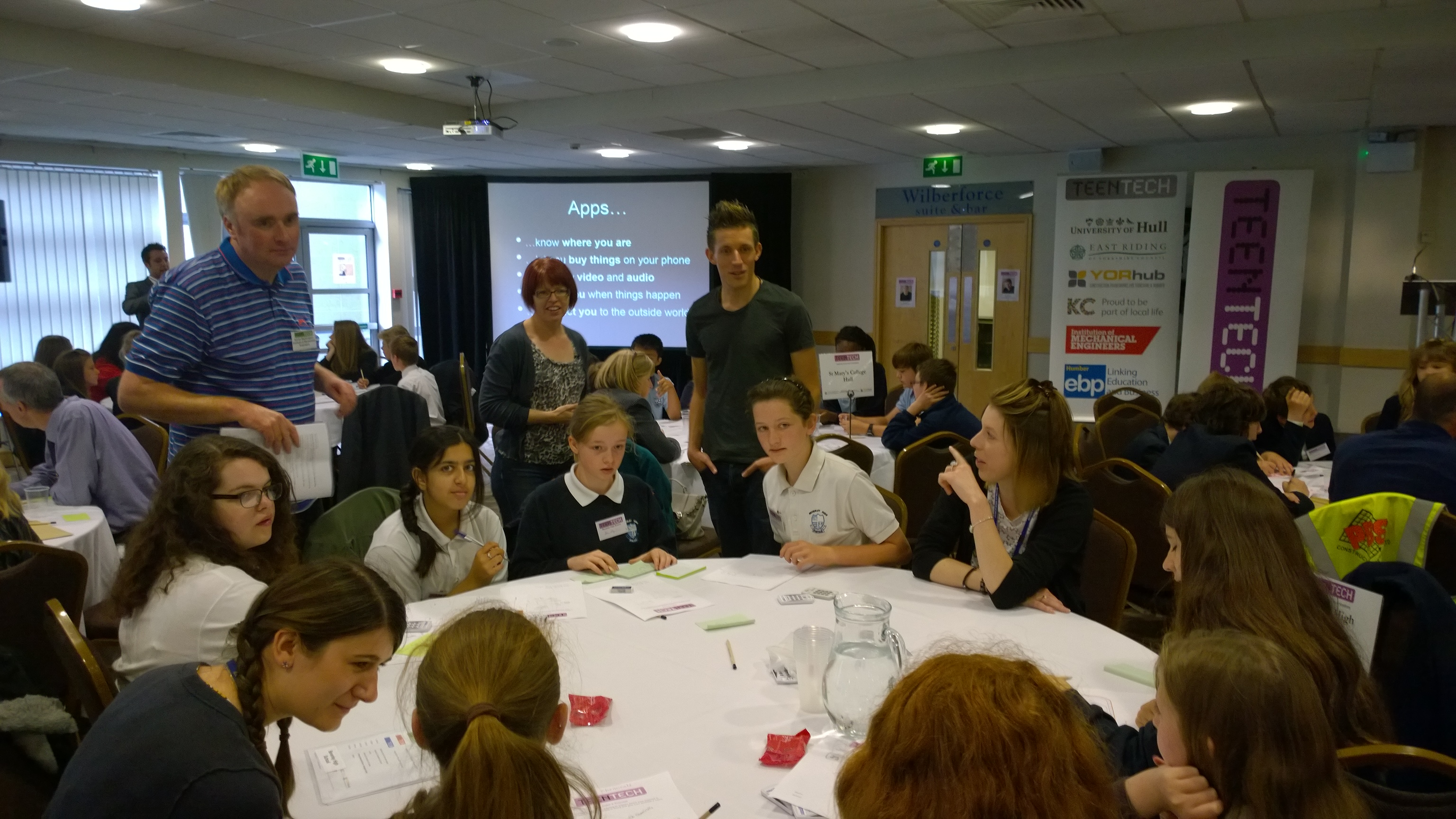 A year of TeenTech Events – teaching app development around the UK!