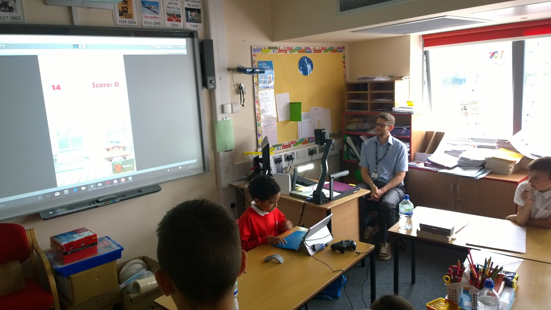 Our Games Development Workshop with Glebe Primary School