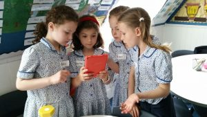 Girls coding