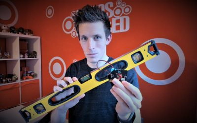 BBC micro:bit: Spirit Level App